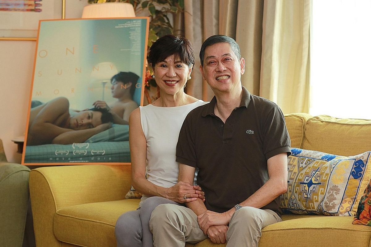 Mr BK Lim started making films after he retired from banking about 10 years ago. His wife Gaik gave him plenty of encouragement, he says.