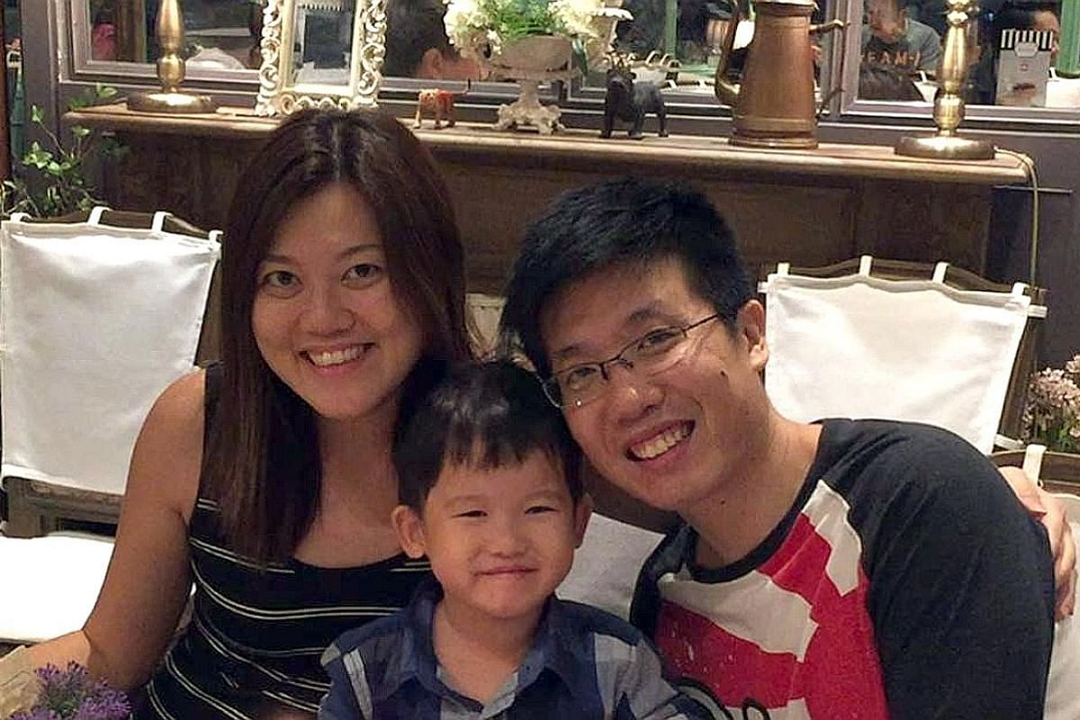 Ms Alicia Boo and Mr Daniel Chai allow their two older children some screen time, but not their babies. Mr Lim Choon Kiong and his wife Zeslyn Lim read that boredom can benefit children, so they stopped entertaining their son Isaac with electronic de