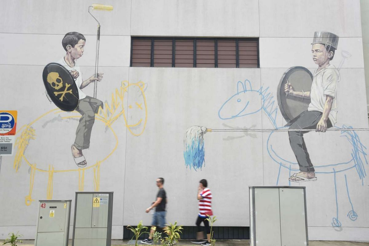 Style Wars by Ernest Zacharevic.