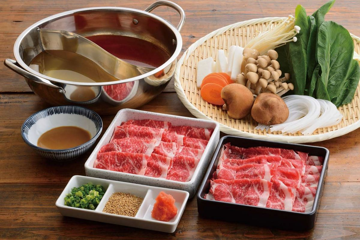 Beef lovers can find a good selection of wagyu.