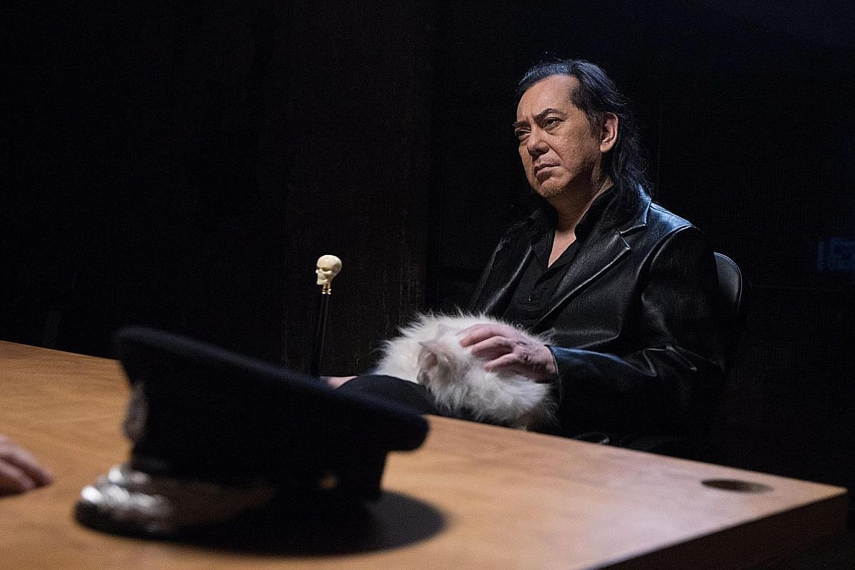 Anthony Wong (above) stars in The Mobfathers by Hong Kong writer-director Herman Yau.