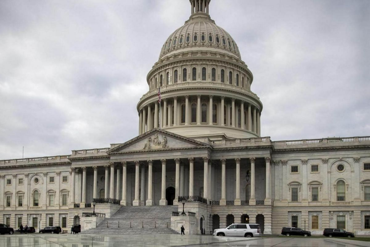 The US Capitol after the successful completion of the US Capitol Dome Restoration Project in Washington, DC, US, on Nov 15, 2016.