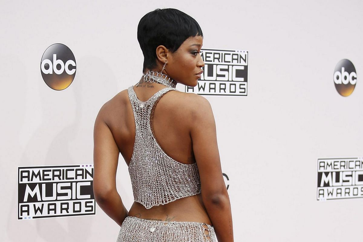 Actress Keke Palmer arriving at the American Music Awards in Los Angeles, California, on Nov 20, 2016.