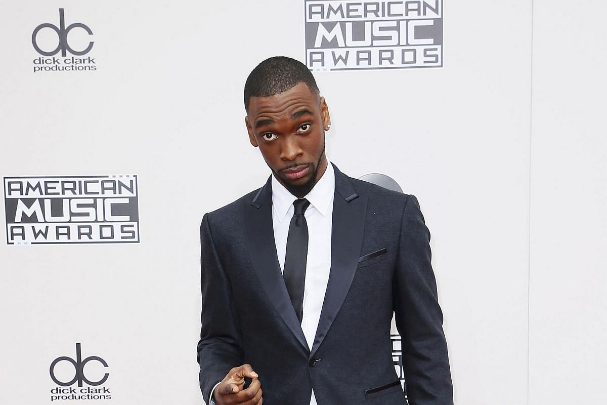 Comedian and host of the American Music Awards Jay Pharoah arriving at the American Music Awards in Los Angeles, California, on Nov 20, 2016.