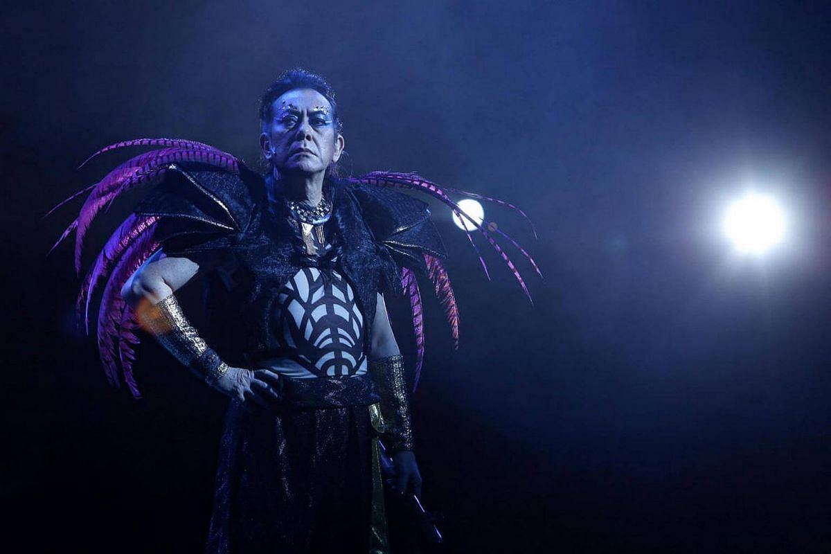 Anthony Wong as King Oberon in A Midsummer Night's Dream by Dionysus Contemporary Theatre, which will be part of the Esplanade's Huayi 2017.