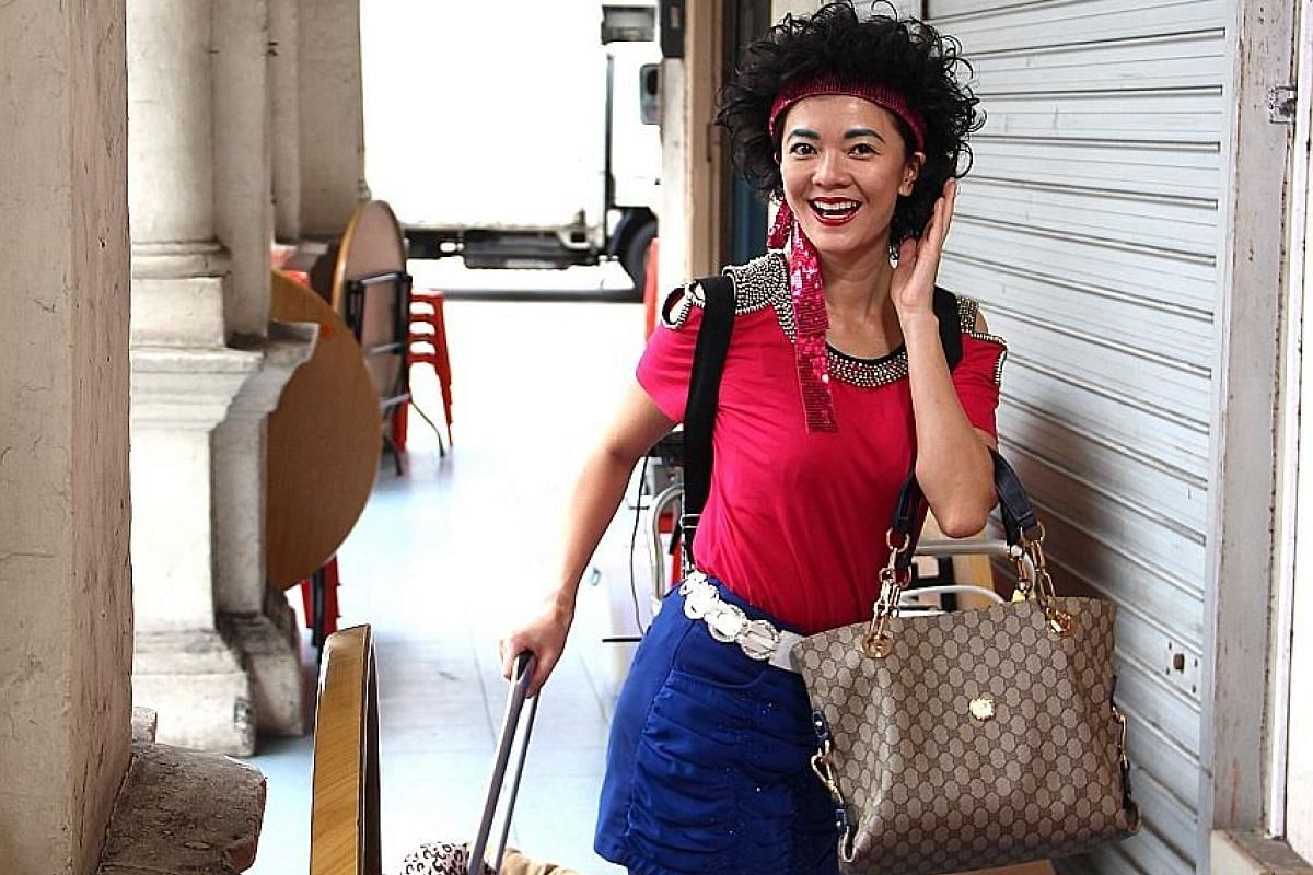 Michelle Chong as the titular character in Lulu The Movie, who will be more positively portrayed than the stereotype in The Noose of a visitor from China.