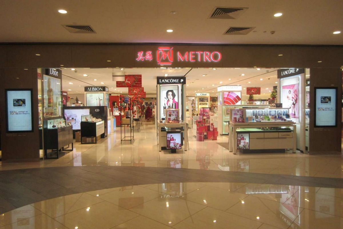 Department store Metro's three outlets, including the one at The Centrepoint, will have discounts of up to 80 per cent.