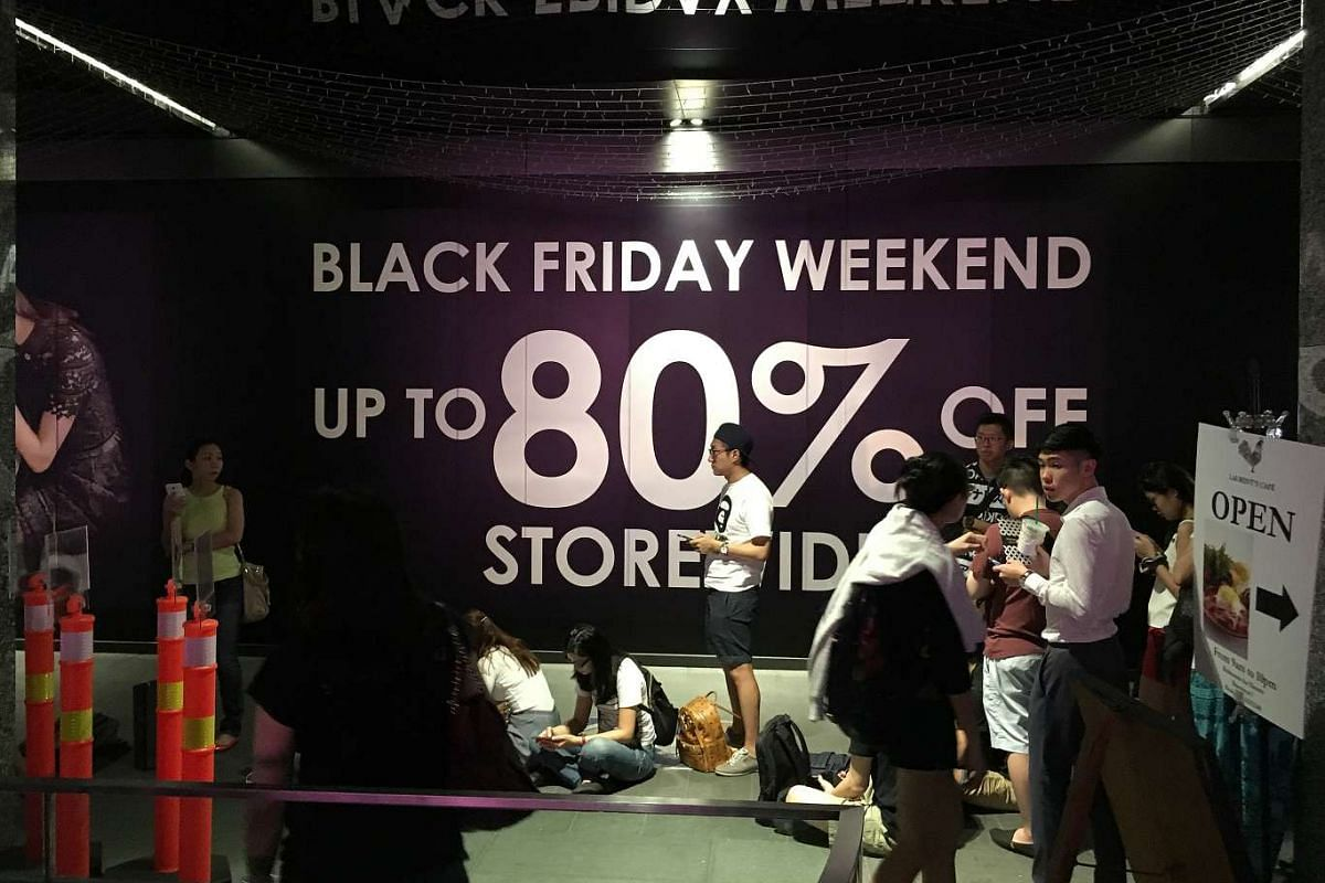 853116db Retailers around the world, including Singapore, kicked off the unofficial start  of the holiday season with the Black Friday sales.