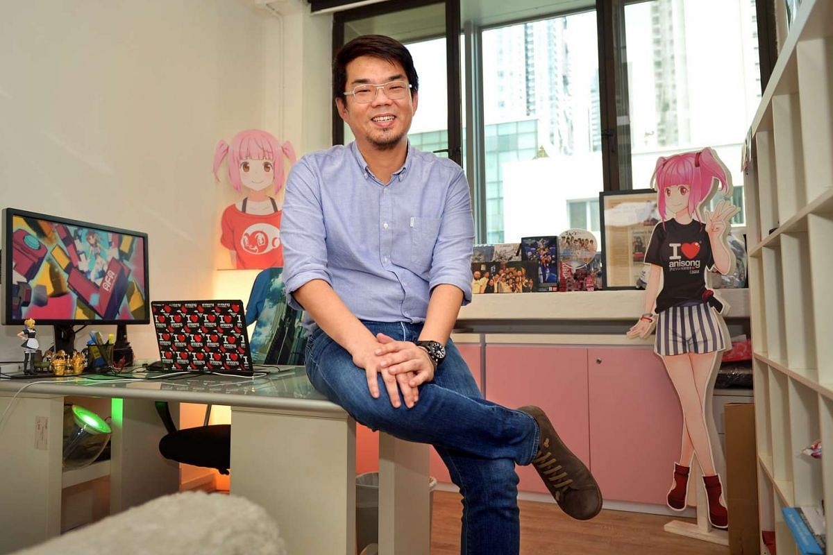 Mr Shawn Chin, who loves anime, has a dream job as founder and managing director of events company Sozo, which organises Anime Festival Asia.