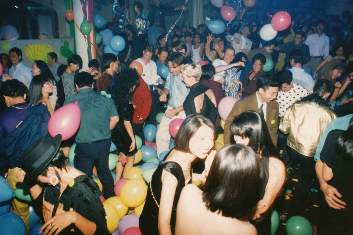 Partygoers dance at Zouk in this undated photo taken in the 1990s.