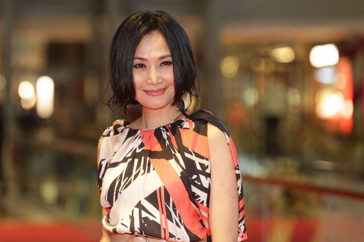 Actress Yu Tai-Yan, who starred in the 2016 film White Ant, turned up at the Singapore International Film Festival's Silver Screen Awards on Dec 3.