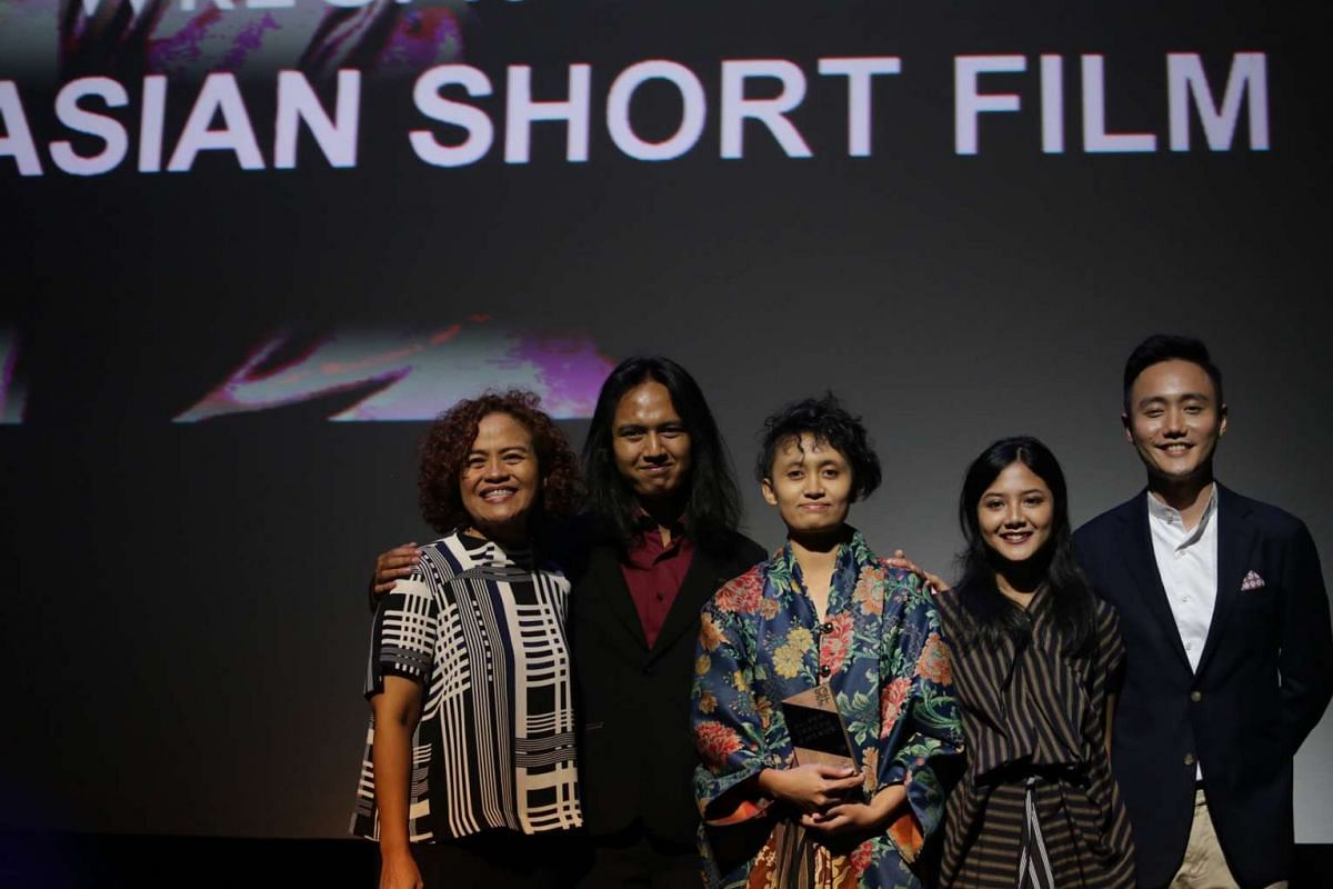 The team behind Best Southeast Asian Short Film - In The Year Of Monkey (Prenjak).