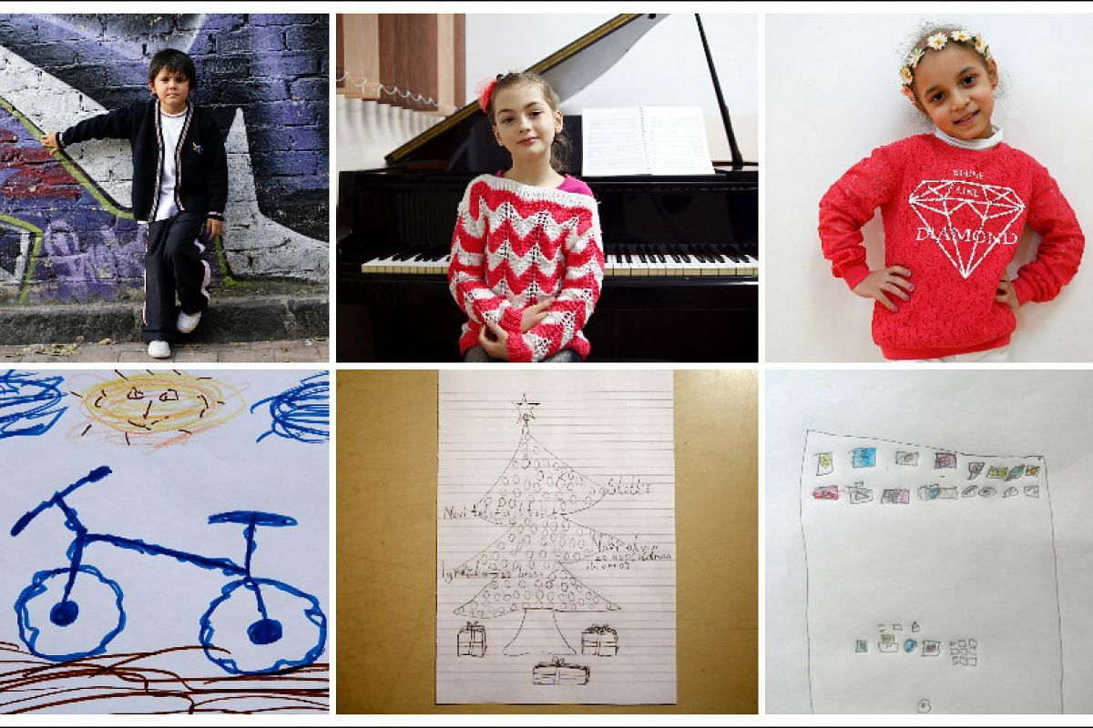 In Pictures: Children around the world draw what they want