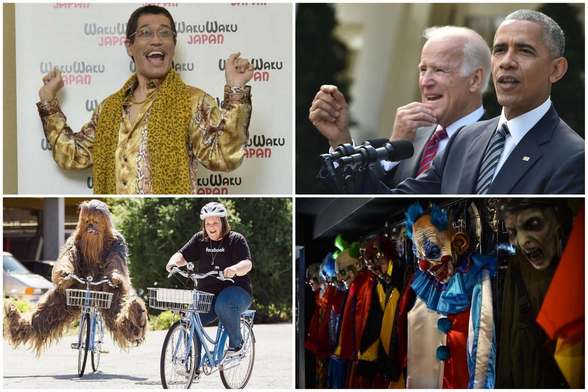 Japanese singer Piko-Taro was in Singapore for the Anime Festival Asia on Nov 27, 2016, US President Barack Obama (right) and Vice-President Joe Biden address publicly for the first time Mr Donald Trump's shock win in the presidential election, Ms Ca