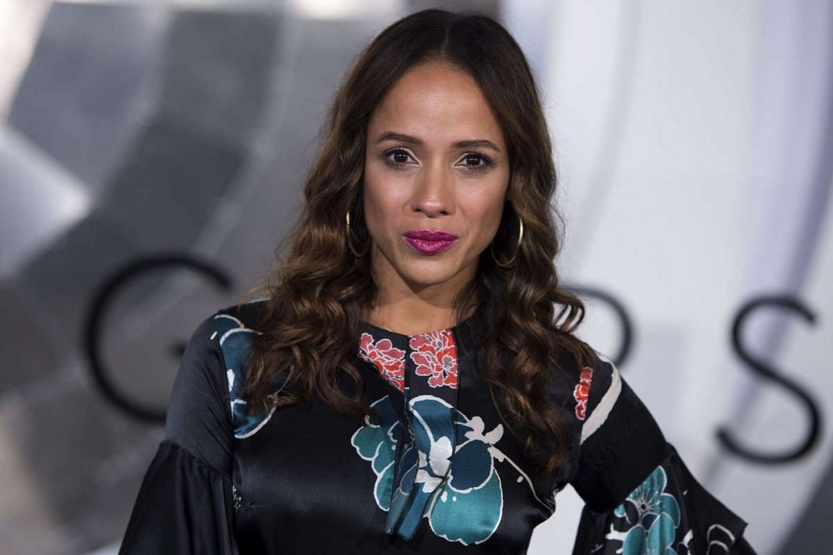 Actress Dania Ramirez at the Passengers premiere in Westwood, California, on Dec 14, 2016.