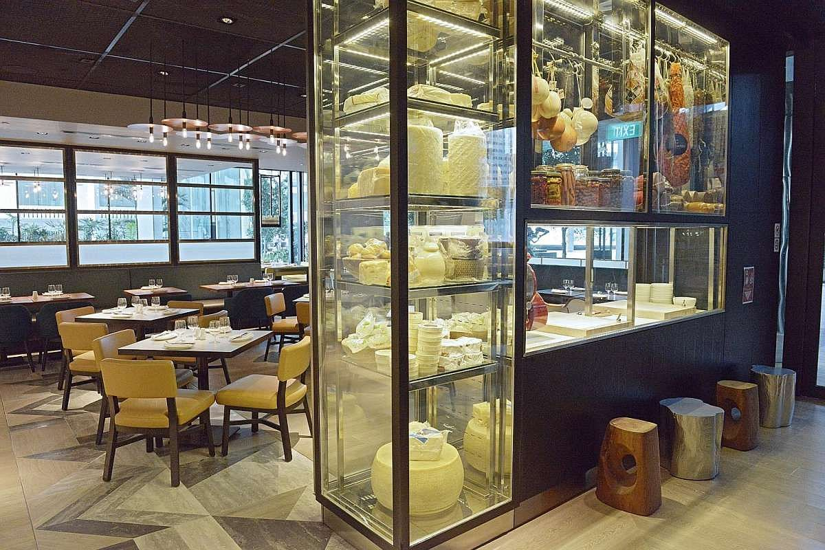 Decked out by French designer Philippe Starck, luxury hotel South Beach is now under the Marriott International stable and sports a brown-and-white palette in the lobby as well as the restaurants.
