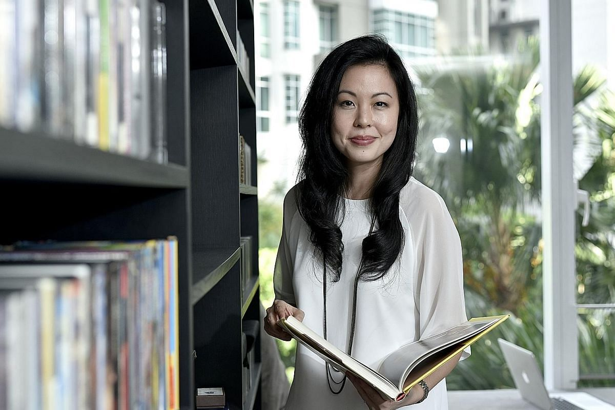 Ms Gillian Tan, founder of production companies Munkysuperstar Pictures and clicknetwork.