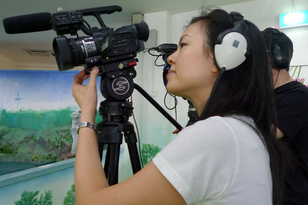 My life so far: Tan (above) shooting a video for clicknetwork around 2010.