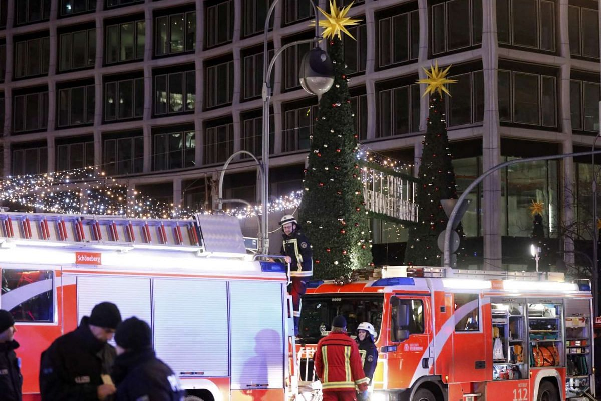 At least nine people were killed and 45 others injured in the crash at the Christmas market.