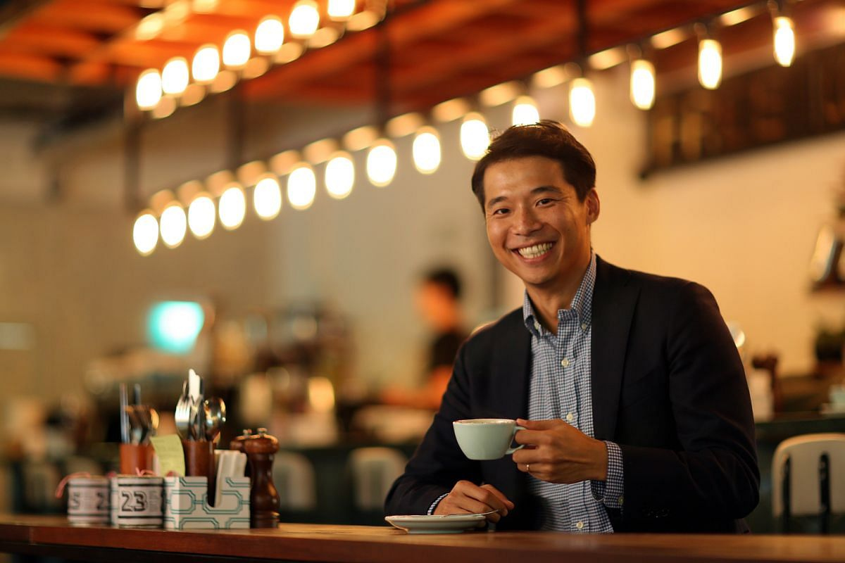 Mr Ryosuke Koike (above) drinks a cup of Bulletproof coffee every morning and says it has helped him to lose weight.