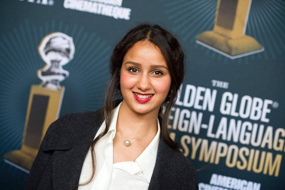 Actress Oulaya Amamra attends the Golden Globe Foreign Language Film Symposium, presented by The Hollywood Foreign Press Association & The American Cinematheque in Hollywood, California, on Jan 7, 2017.
