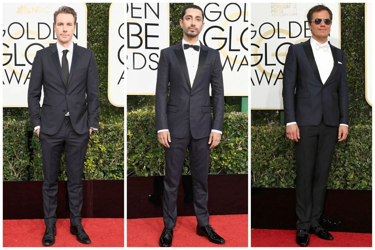 (From left) Dax Shepard, Riz Ahmed and Michael Shannon.
