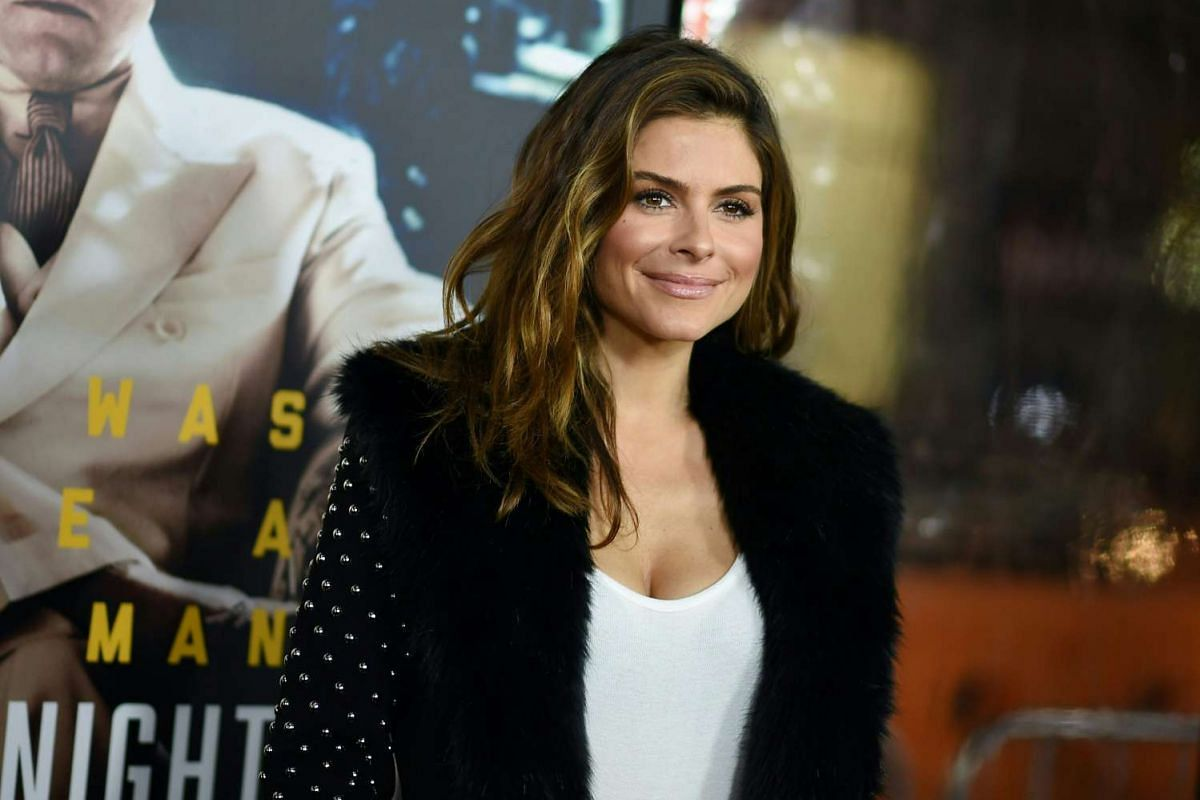 Actress and occasional pro wrestler Maria Menounos at the world premiere of Live By Night in Hollywood, California, on Jan 9, 2017.