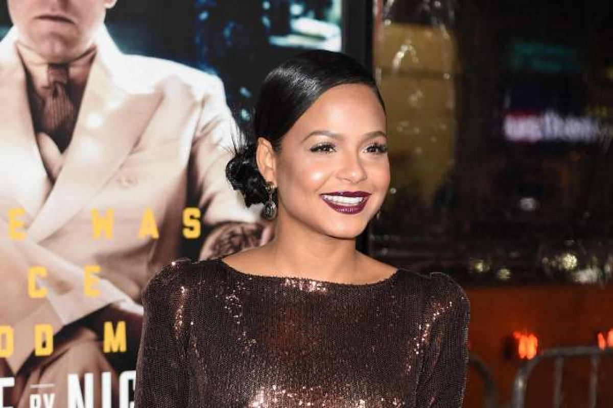 Actress Christina Milian at the world premiere of Live By Night in Hollywood, California, on Jan 9, 2017.