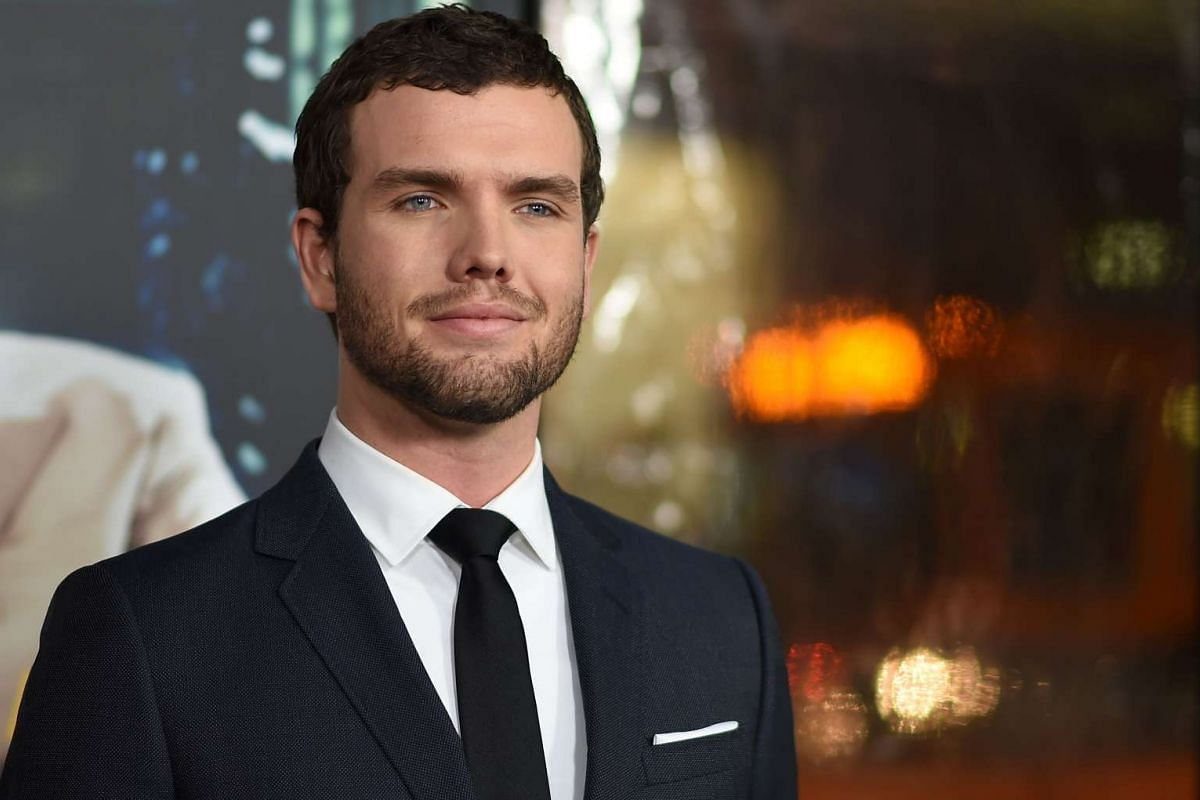 Austin Swift, the younger brother of singer Taylor Swift, at the world premiere of Live By Night in Hollywood, California, on Jan 9, 2017.