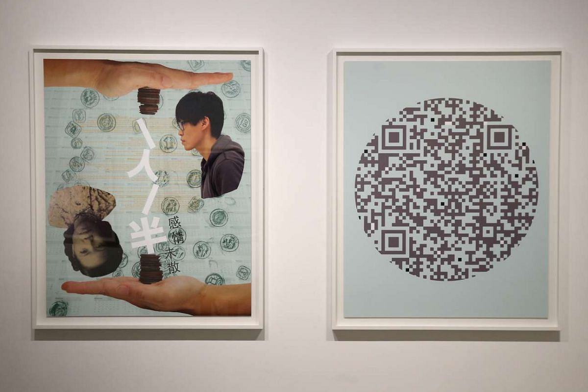 Artist Amanda Heng tells the stories of 12 participants with images incorporating elements such as digital scans of their treasured objects, personal writings and photographs, as well as QR codes that link to videos, audio recordings or photographs.