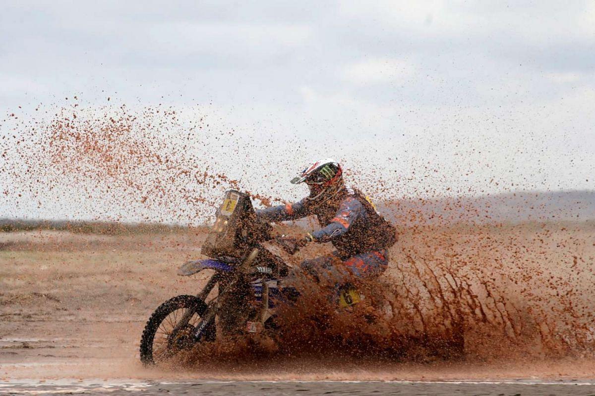 Adrien Van Beveren of France riding his Yamaha.