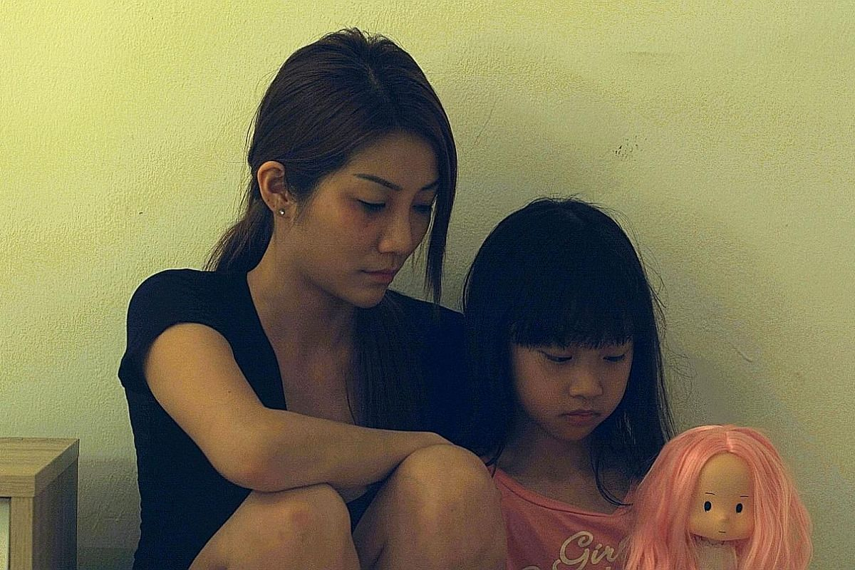 Angeline Yap (above, with Alana Lin).