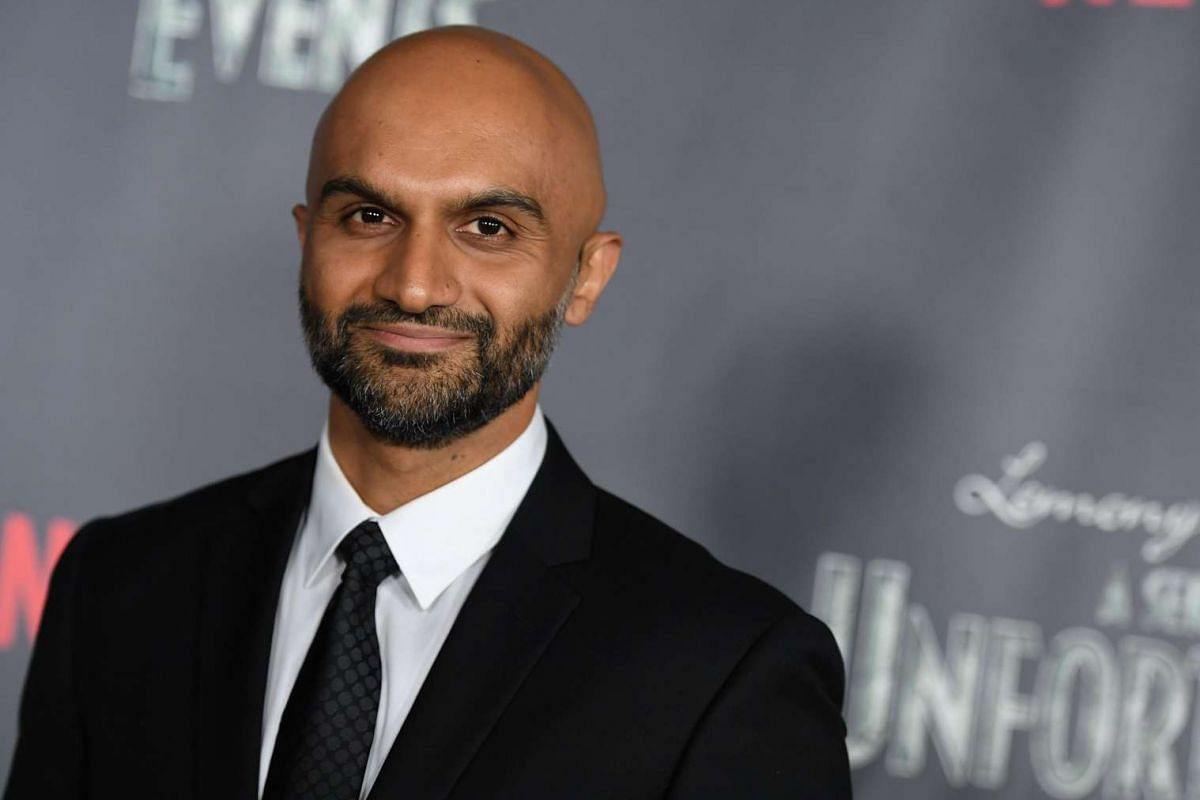Actor Usman Ally attends the premiere of Netflix's A Series Of Unfortunate Events at AMC Lincoln Square Theater on Jan 11, 2017, in New York.