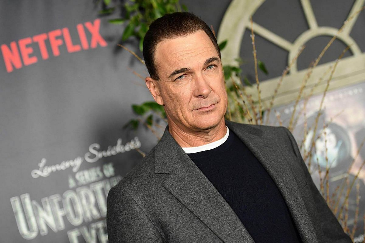 Actor Patrick Warburton, who provides the voice narration, attending the premiere of Netflix's A Series Of Unfortunate Events at AMC Lincoln Square Theater on Jan 11, 2017, in New York.