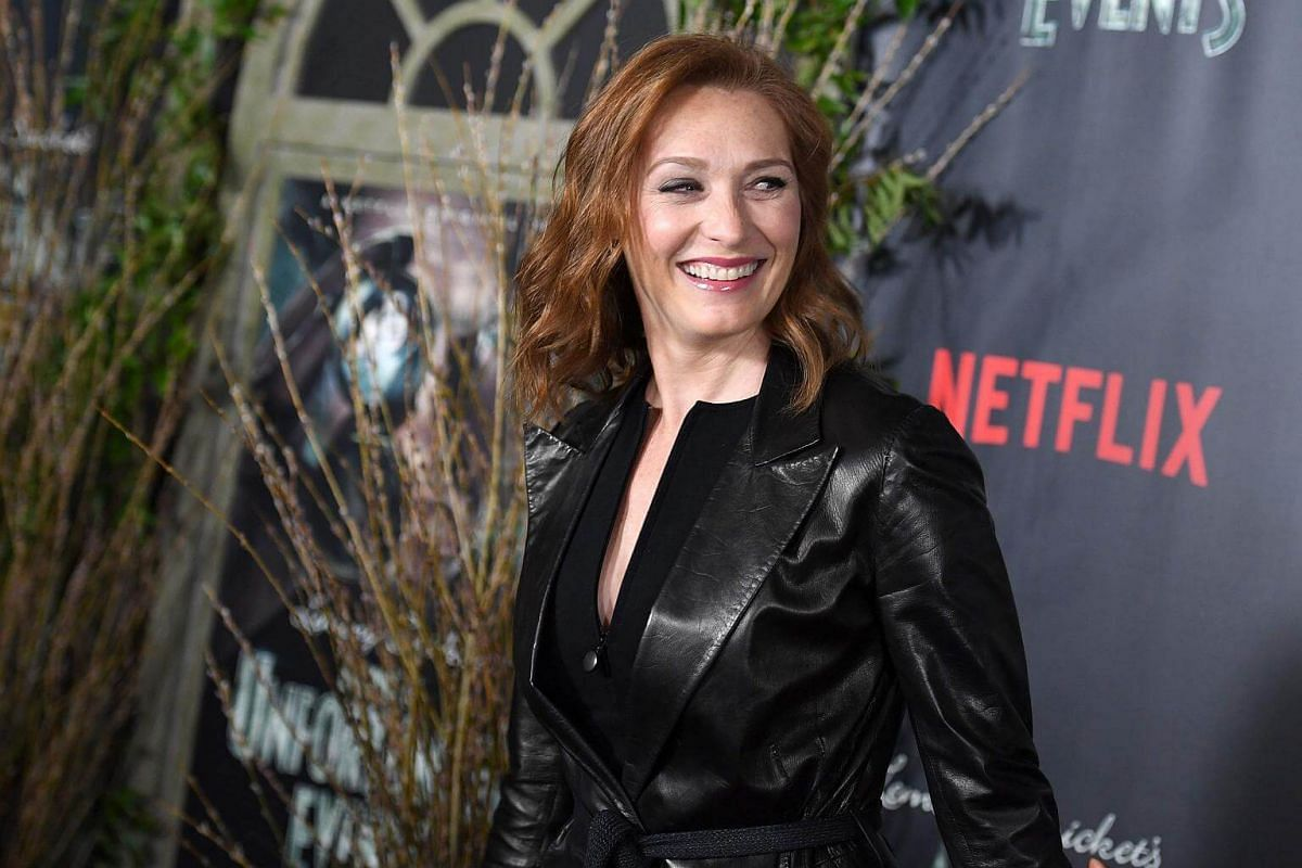 Actress Kate Jennings Grant attending the premiere of Netflix's A Series Of Unfortunate Events at AMC Lincoln Square Theater on Jan 11, 2017, in New York.