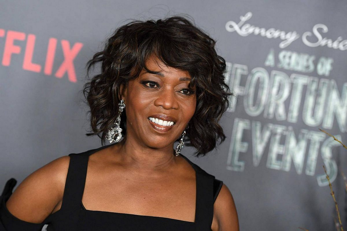 Actress Alfre Woodard, who plays Aunt Josephine, attends the premiere of Netflix's A Series Of Unfortunate Events at AMC Lincoln Square Theater on Jan 11, 2017, in New York.