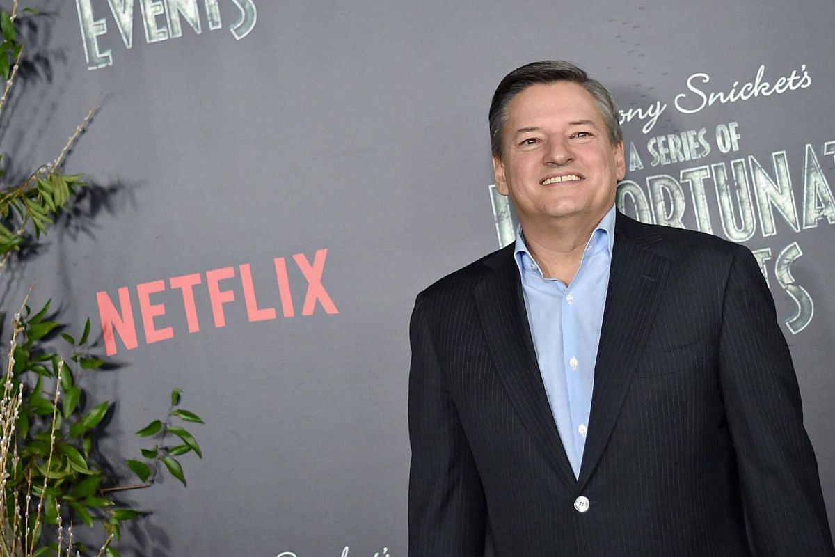 Netflix CCO Ted Sarandos attends the Lemony Snicket's A Series Of Unfortunate Events Screening at AMC Lincoln Square Theater on Jan 11, 2017, in New York City.