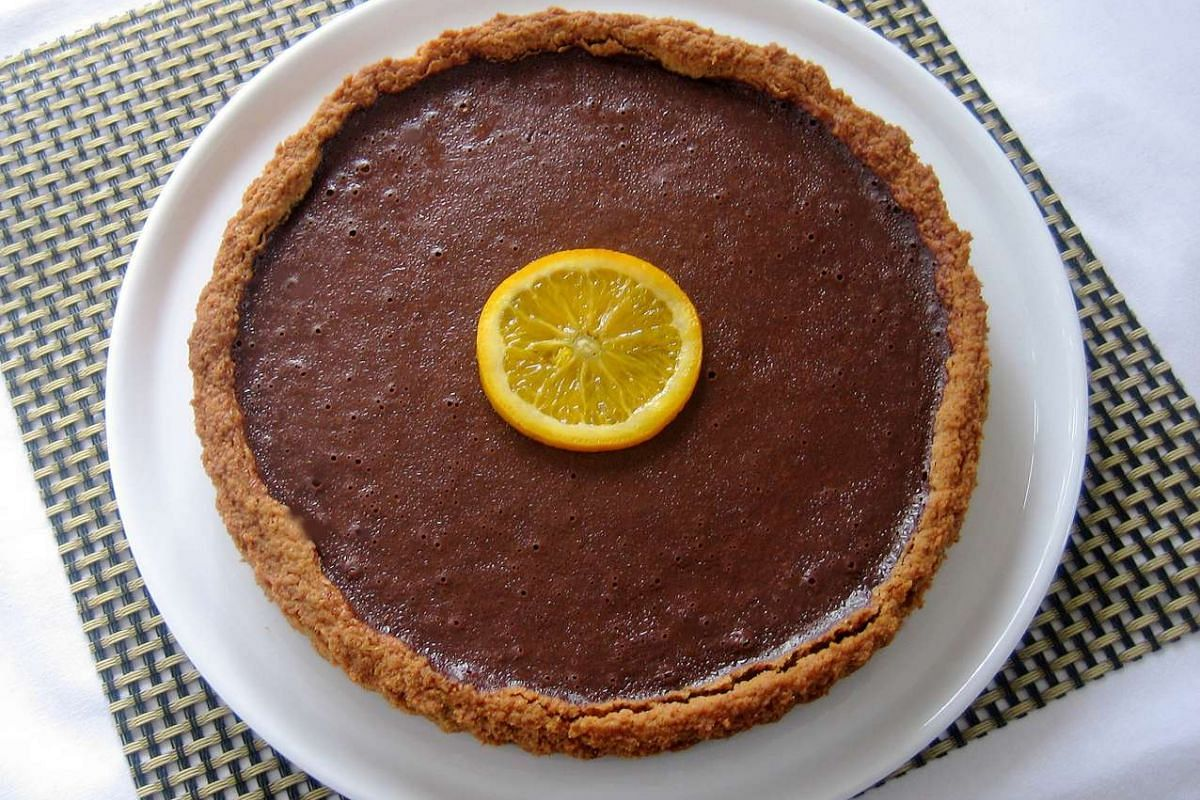 Make your own chocolate tart.