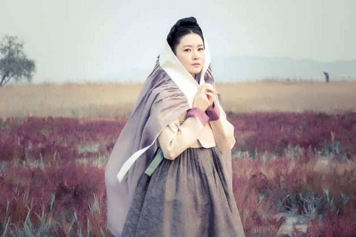Lee Young Ae in Saimdang.