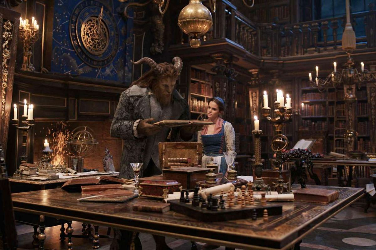 Disney's Beauty And The Beast.