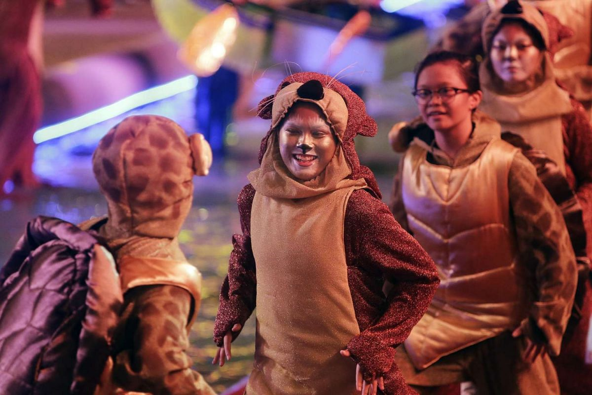 Highlights include the recreation of a tiger float that first appeared in the 1974 parade, performances of home-grown Mandarin music wave xinyao, and a finale featuring laser lights, fireworks and other special effects.