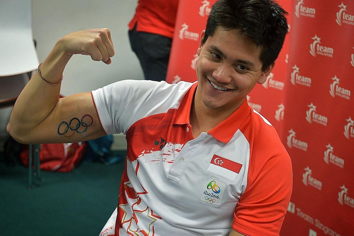 """Adapting to his new status is a fresh challenge for Joseph Schooling. """"Rather than always chasing,"""" he says, """"now I'm the one being chased and it excites me."""""""