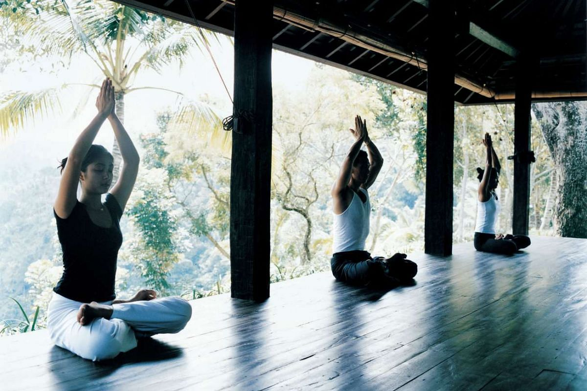 Como Shambhala Estate is a lush, holistic health retreat located 20 minutes north of Ubud.