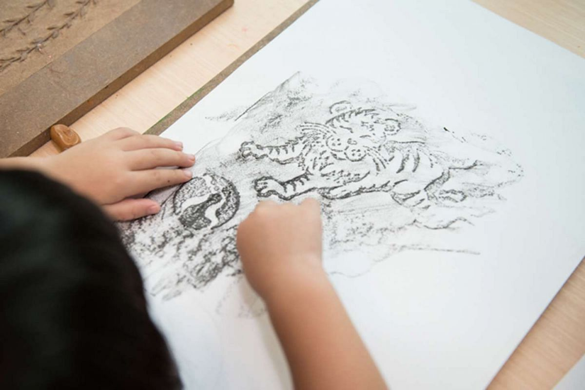 Children can get crafty drawing the 12 animals of the Chinese zodiac at the Esplanade this Chinese New Year.