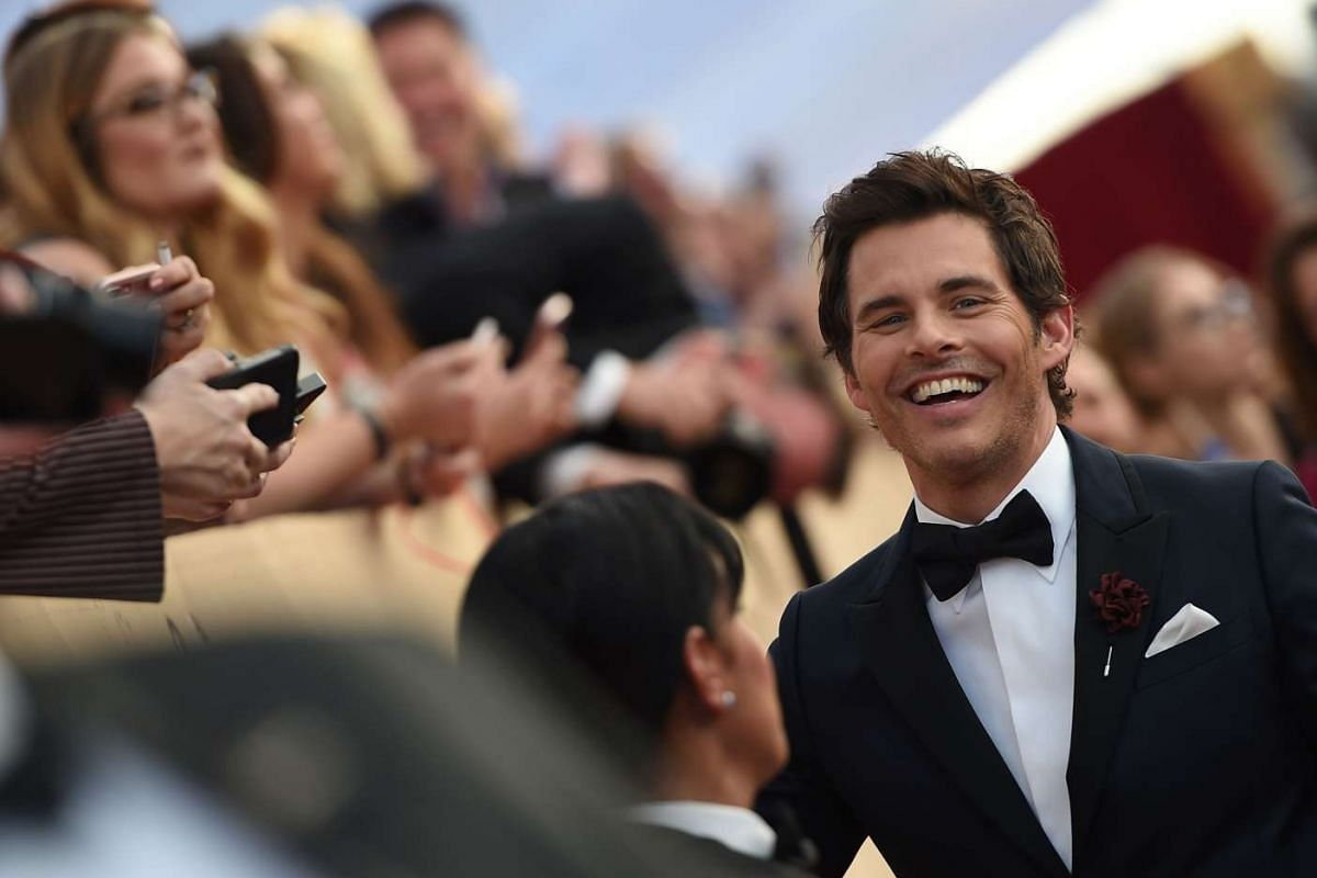 Actor James Marsden arrives for the 23rd Annual Screen Actors Guild Awards at the Shrine Exposition Center on Jan 29, 2017, in Los Angeles, California.