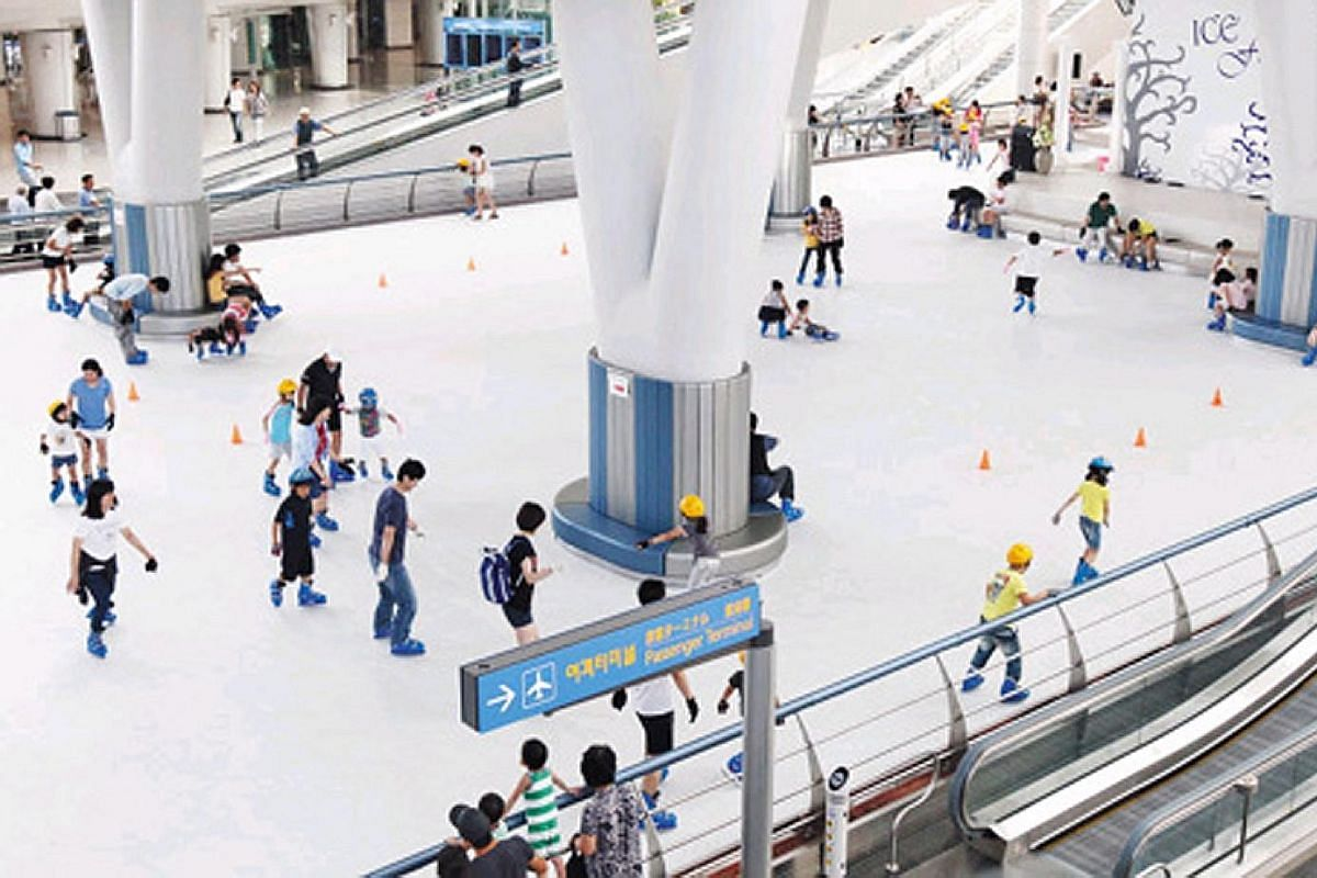 Children on a layover at Munich International Airport will be kept entertained by its huge playground.