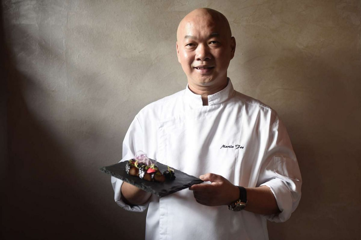 Chef Martin Foo has almost 30 years of experience.