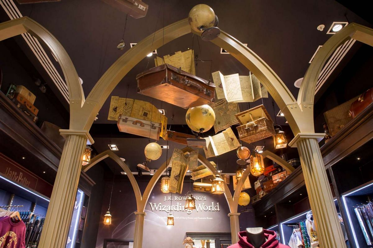 An official 600 sq ft Harry Potter store in Heathrow Airport