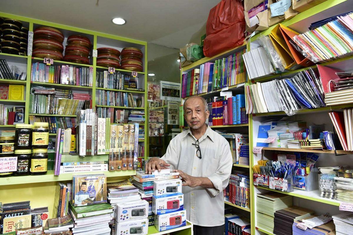 Mr Abdul Aziz Yusof, 62, is the third-generation owner of Kedai Haji Hashim.