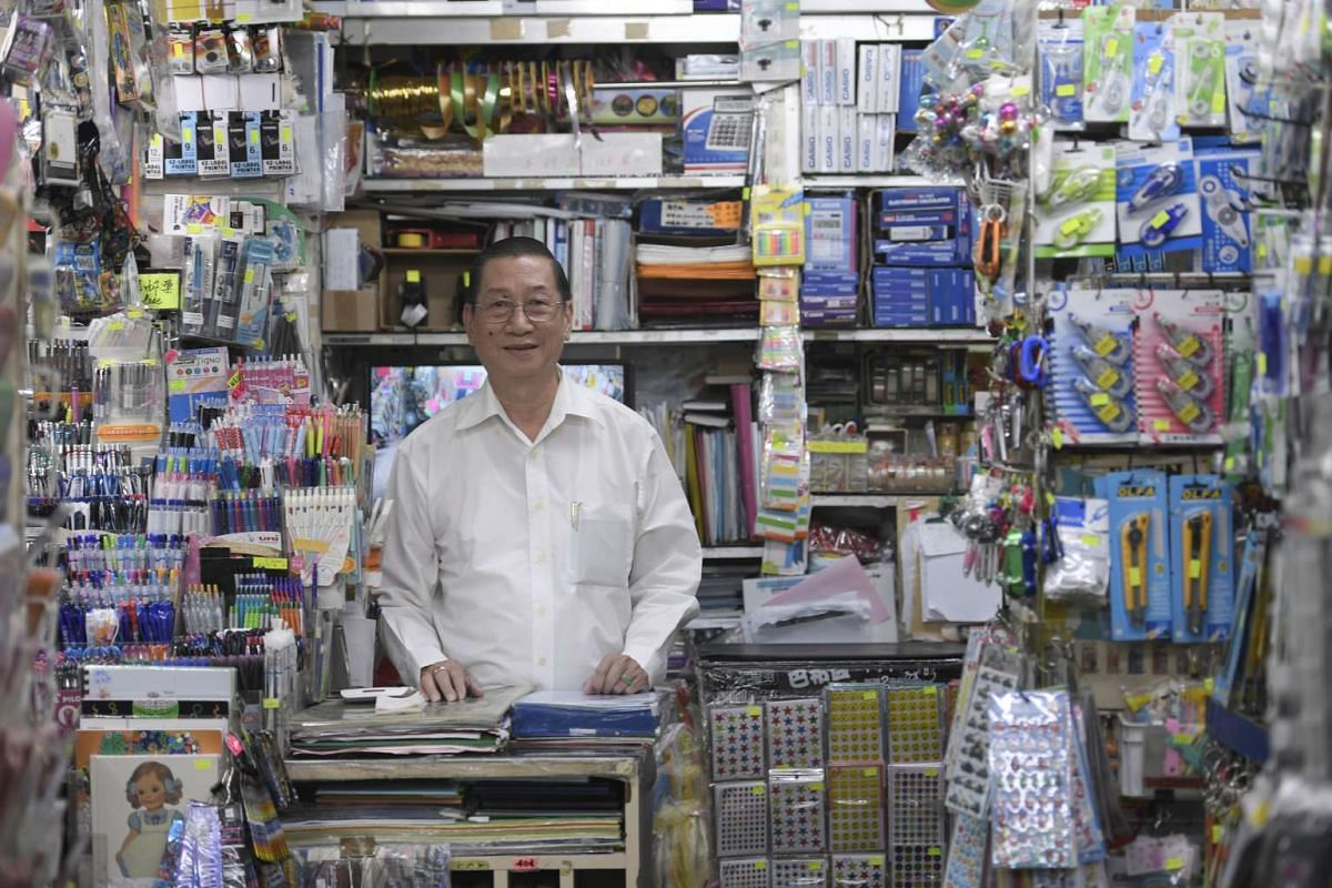 Mr Chew Ching Suaa, founder of Grassland Book Store.